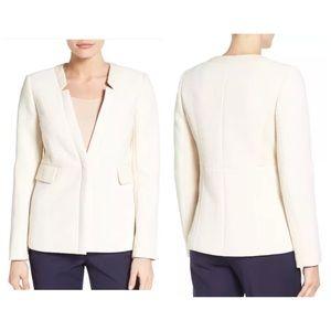 EMERSON ROSE Rita Tweed Jacket Blazer Ivory NEW